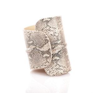 Bracciale in pelle - Plumilla