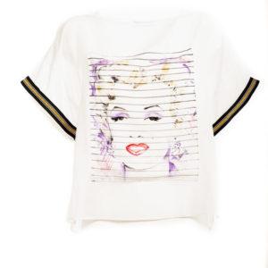 T-shirt Marilyn - Plumilla