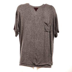 T-shirt grigio di Payne -Plumilla