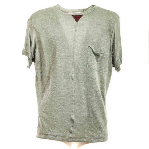 T-shirt Verde - Plumilla