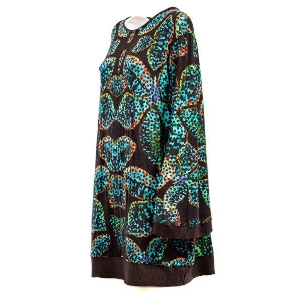 Vestito scamiciato manica lunga - Plumilla